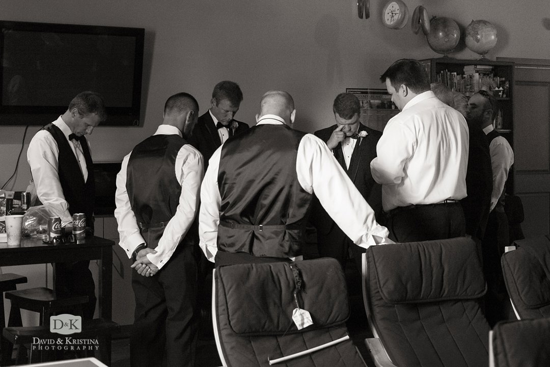 prayer time before wedding