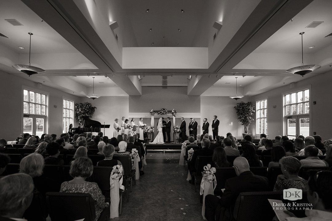 Christ Community Church Ceremony Twigs Tempietto Wedding Reception