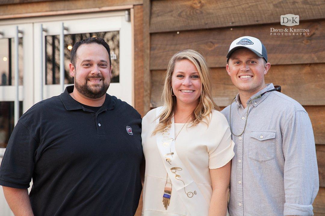 David Junker, Corie Savage and Tyler Miller