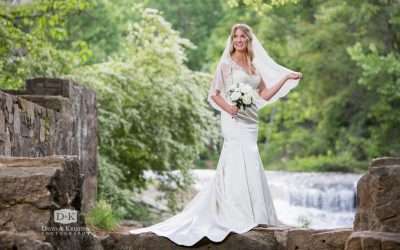 Old Mill Garden Bridal Portrait | Chancie Lewis