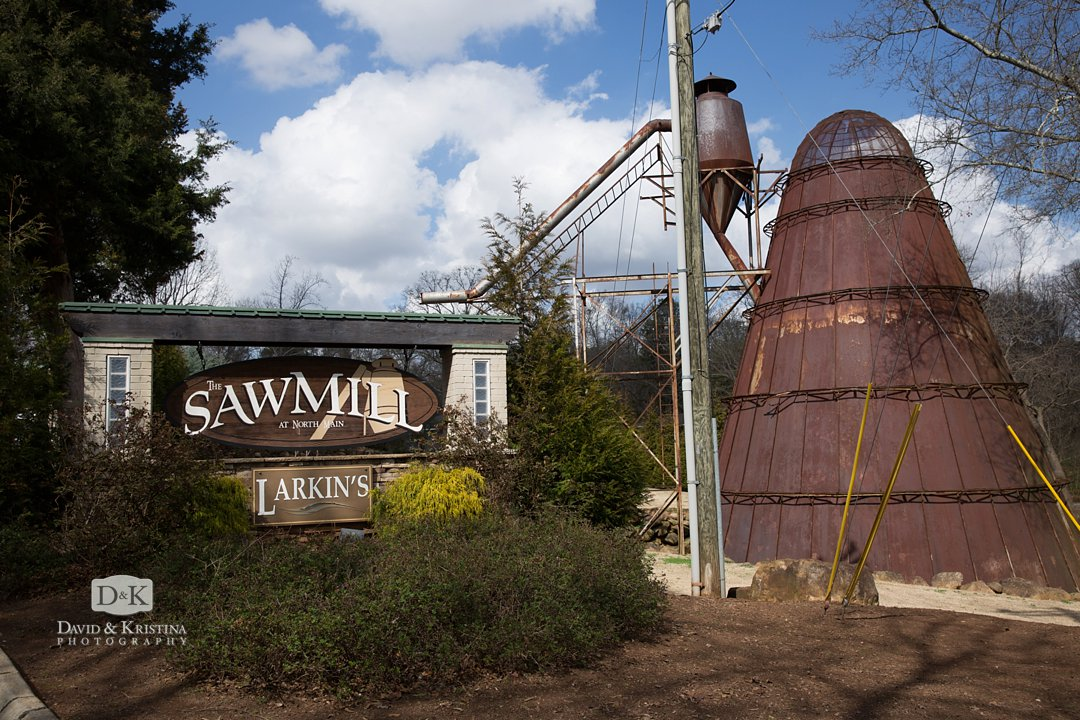 Larkin's Sawmill at North Main
