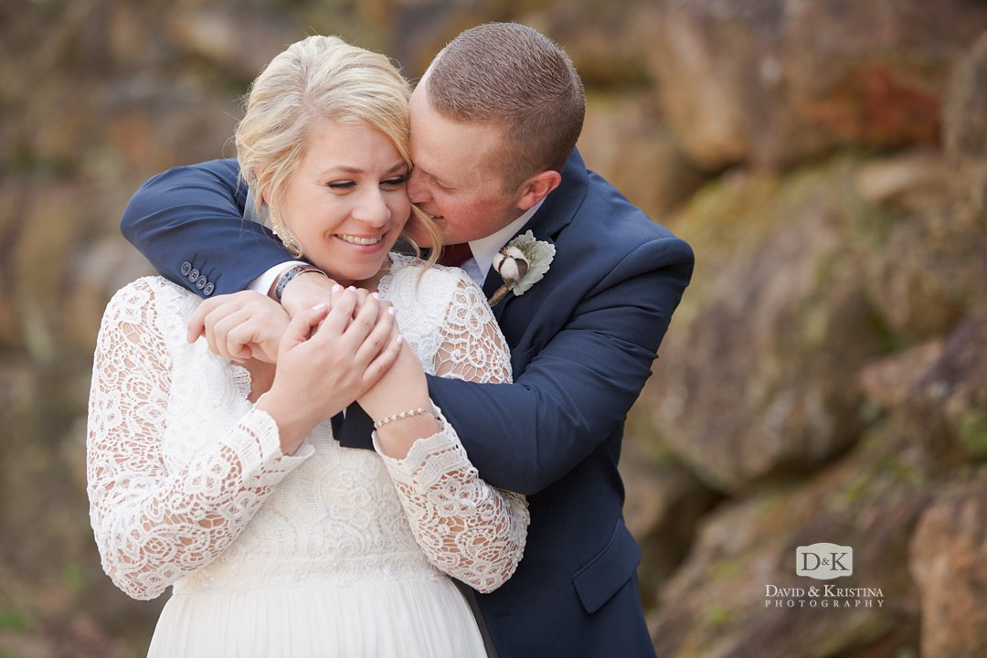 Corie and Tyler Larkin's Sawmill wedding