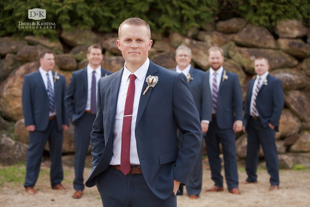 groomsmen and Tyler