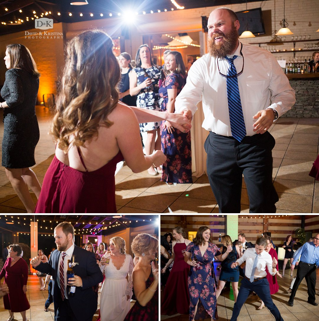 Larkin's Sawmill wedding reception