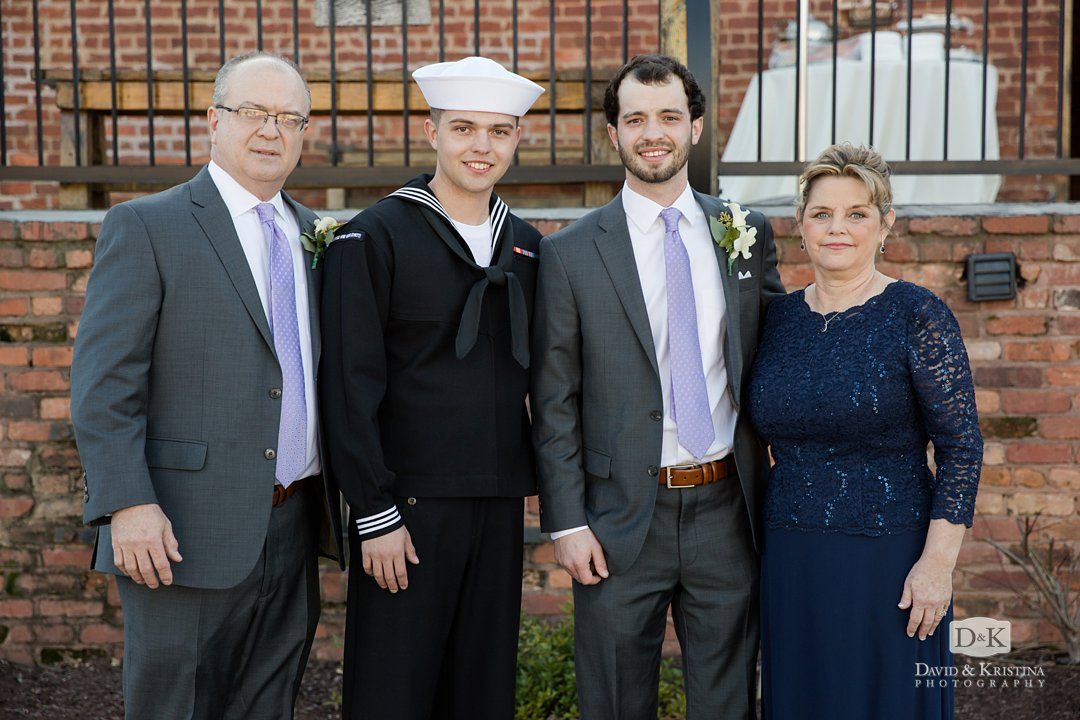 Groom's family