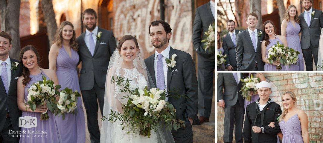candid bridal party photos