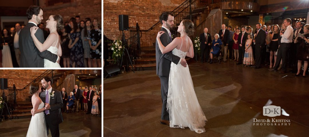 Michael and Virginia's first dance