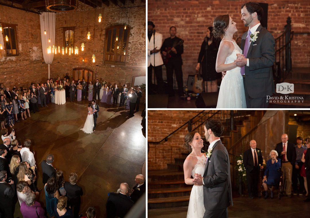 Old Cigar Warehouse wedding reception
