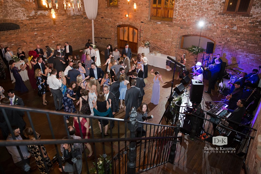 The Old Cigar Warehouse wedding reception