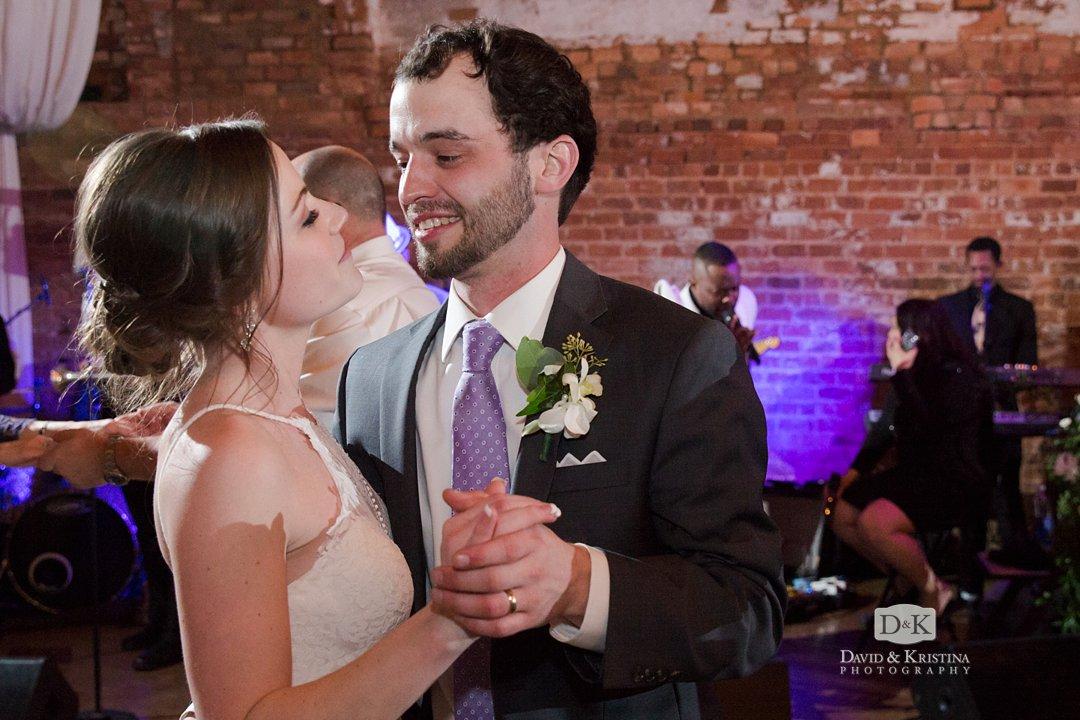 Virginia and Michael's wedding reception
