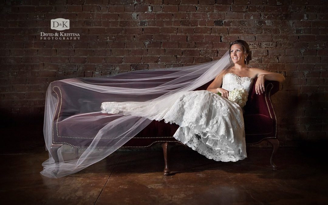 Old Cigar Warehouse Bridal Portrait | Kelsey Nelson