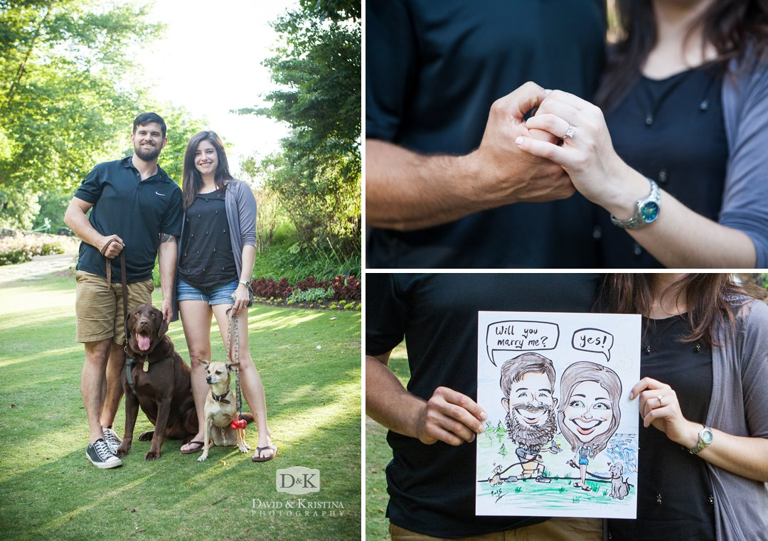 cartoon drawing reveals proposal