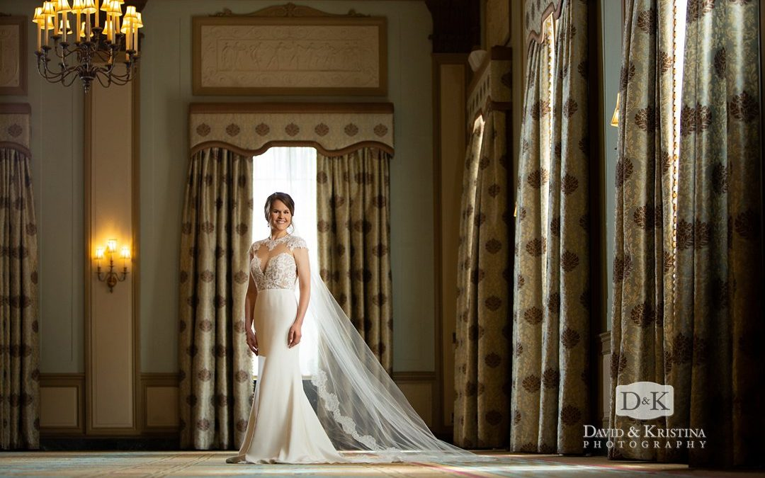 Dana's Bridal Portrait at the Westin Poinsett Hotel