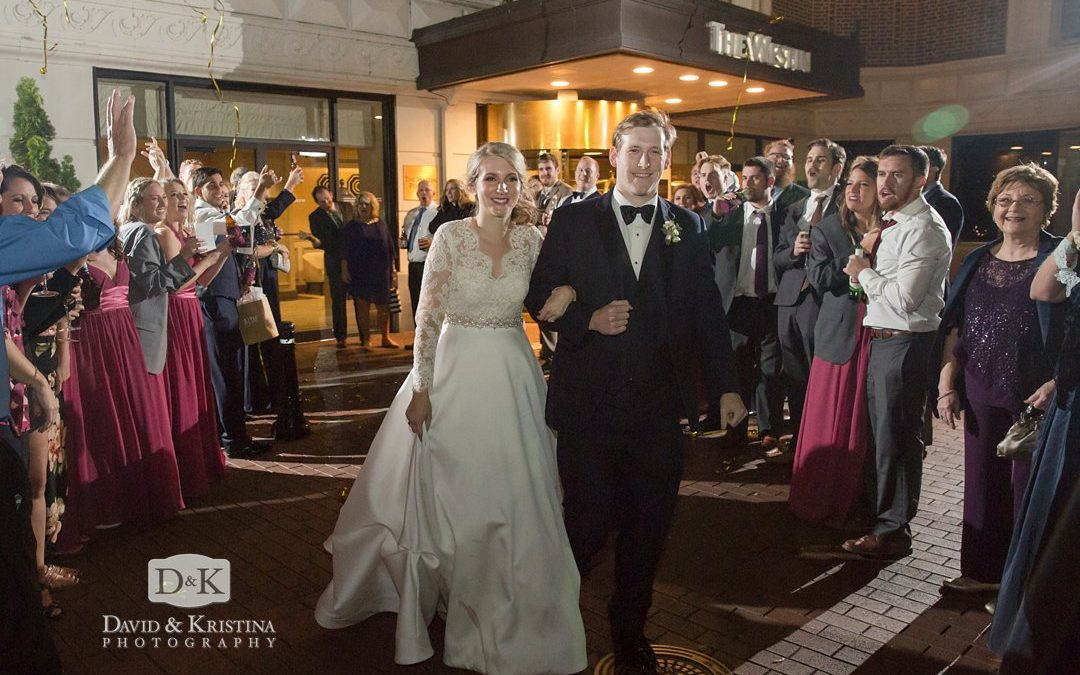 Westin Poinsett Hotel Wedding | Ryan & Lauren in the Poinsett Ballroom